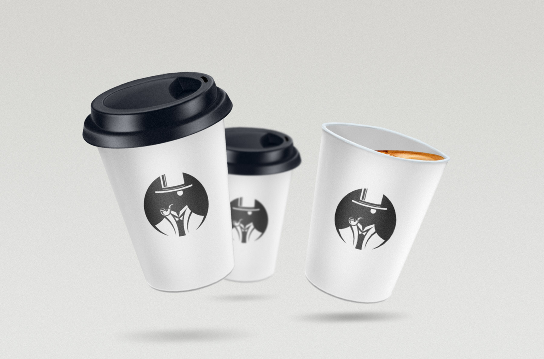Lumes takeaway coffee cup design